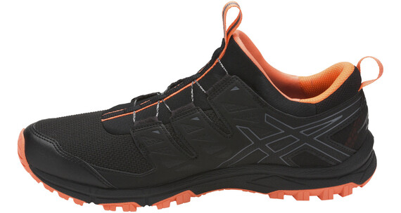 asics Gel-Fujirado Shoes Men black/carbon/hot orange